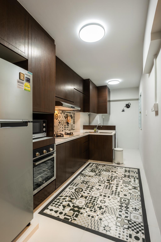 Contemporary, HDB, Kitchen, Bukit Batok West Avenue 5, Interior Designer, NID Design Group