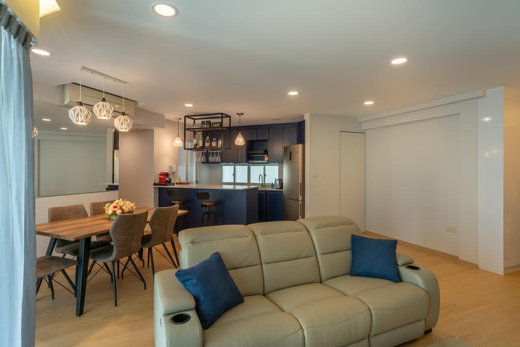 Contemporary, Condo, Living Room, Park Central @ AMK, Interior Designer, NID Design Group