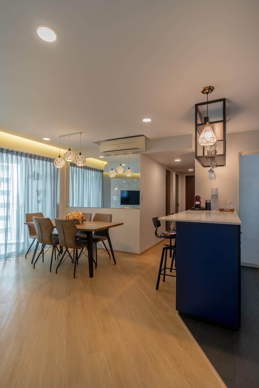 Contemporary, Condo, Park Central @ AMK, Interior Designer, NID Design Group