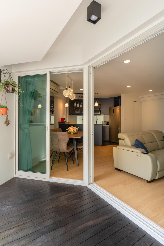 Contemporary, Condo, Balcony, Park Central @ AMK, Interior Designer, NID Design Group