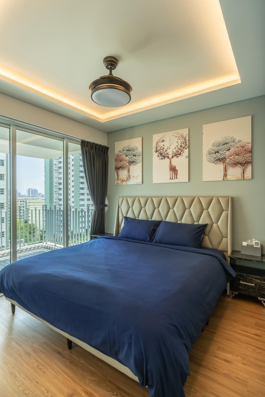 Contemporary, Condo, Bedroom, Park Central @ AMK, Interior Designer, NID Design Group