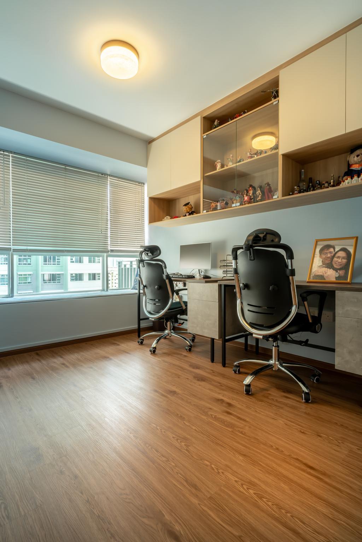 Contemporary, Condo, Study, Park Central @ AMK, Interior Designer, NID Design Group