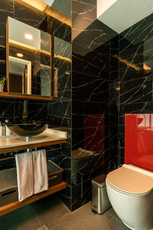 Contemporary, Condo, Bathroom, Park Central @ AMK, Interior Designer, NID Design Group