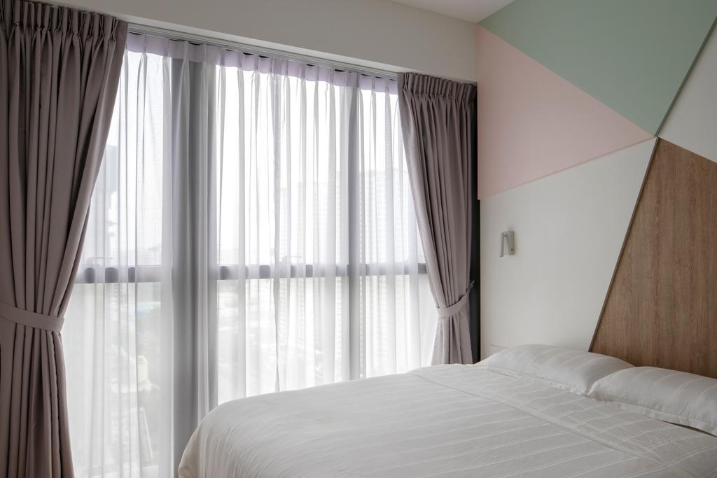 Contemporary, Condo, Bedroom, Commonwealth Towers, Interior Designer, Versaform