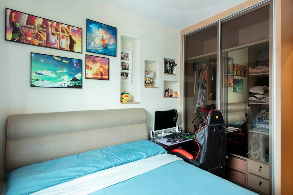 Contemporary, HDB, Bedroom, Bukit Batok West Avenue 5, Interior Designer, EA Interior Design
