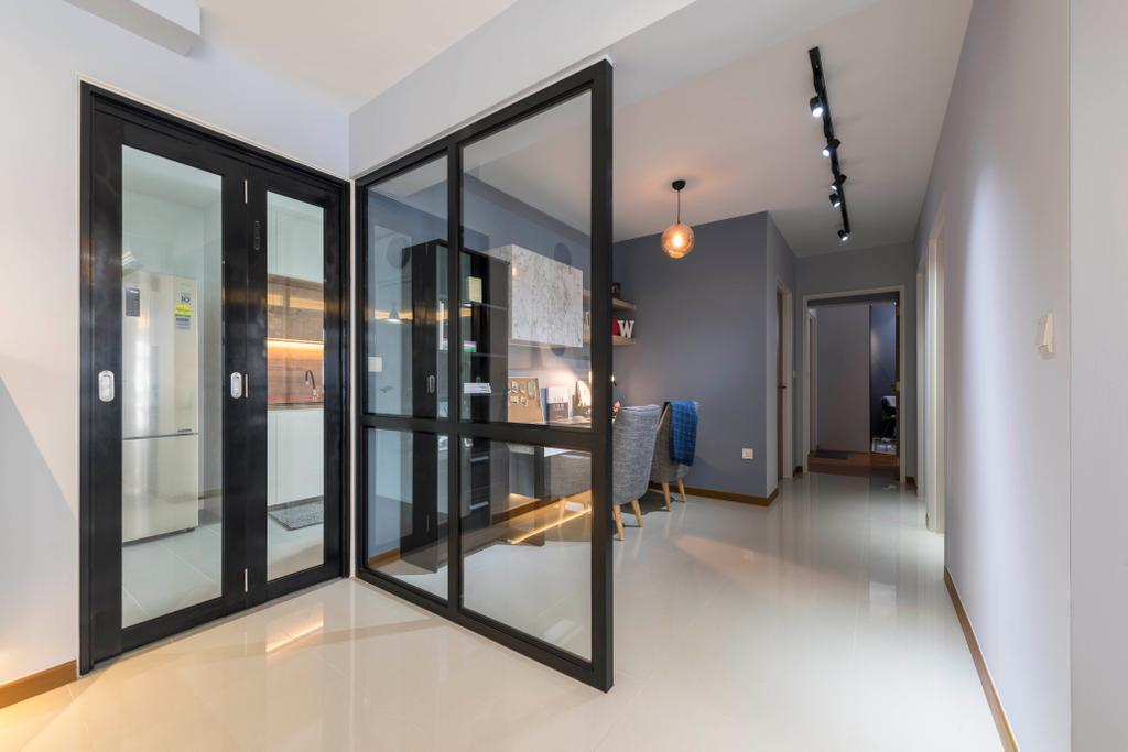 Contemporary, HDB, Sumang Walk, Interior Designer, Urban Home Design 二本設計家