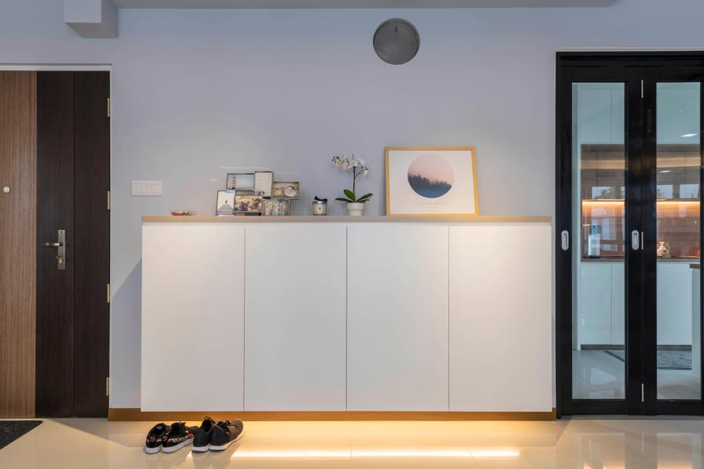 Contemporary, HDB, Living Room, Sumang Walk, Interior Designer, Urban Home Design 二本設計家