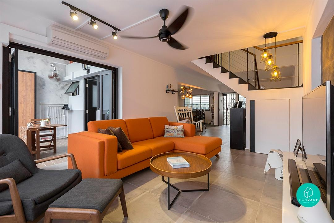 A Maisonette in Simei Goes Mod-Industrial