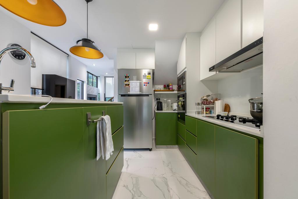Contemporary, Condo, Kitchen, Bukit Teresa Close, Interior Designer, Silvotino Design