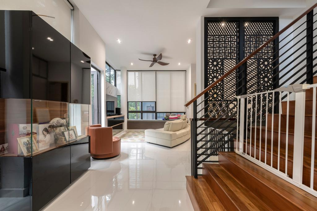 Contemporary, Condo, Living Room, Bukit Teresa Close, Interior Designer, Silvotino Design