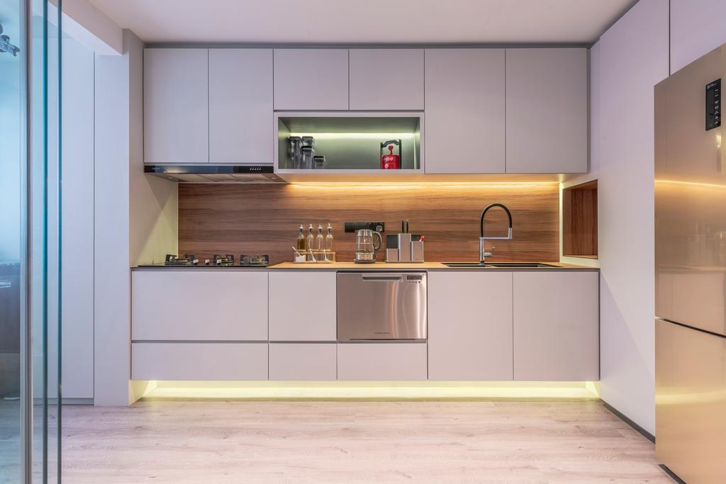 Contemporary, HDB, Kitchen, Bukit Batok West Avenue 8, Interior Designer, Para.graph