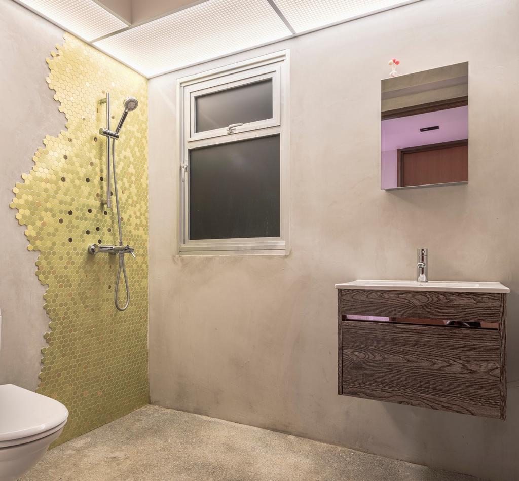 Contemporary, HDB, Bathroom, Bukit Batok West Avenue 8, Interior Designer, Para.graph