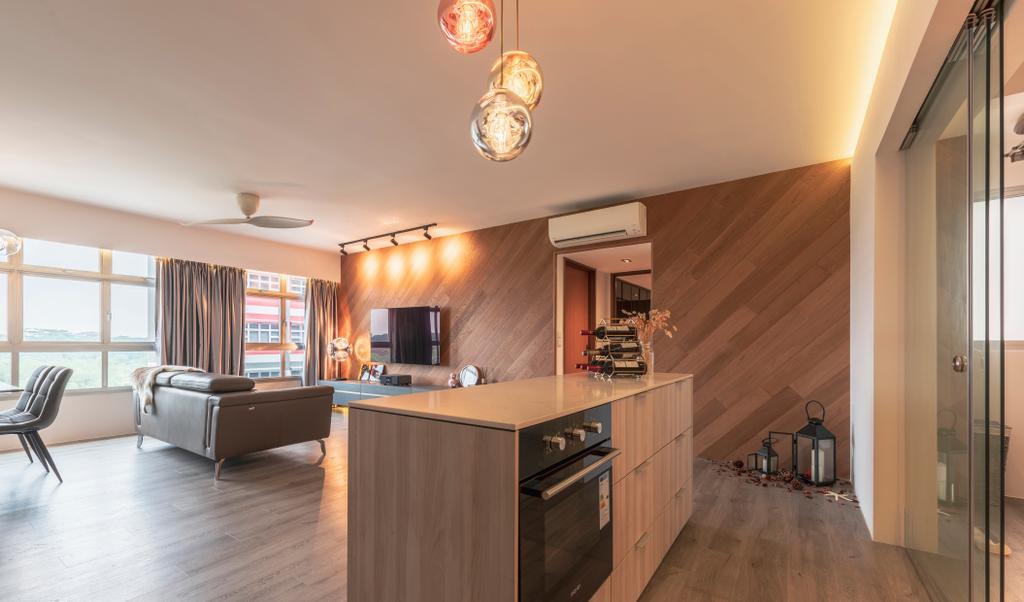 Contemporary, HDB, Living Room, Bukit Batok West Avenue 8, Interior Designer, Para.graph