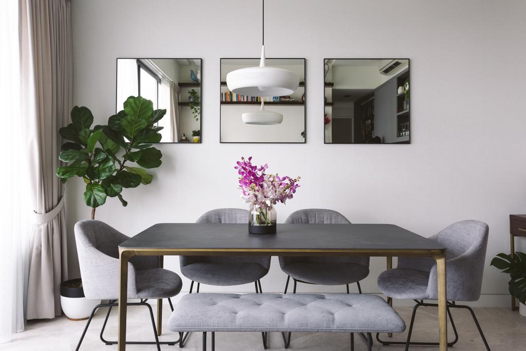 Contemporary, Condo, Dining Room, Highline Residences, Interior Designer, Habit