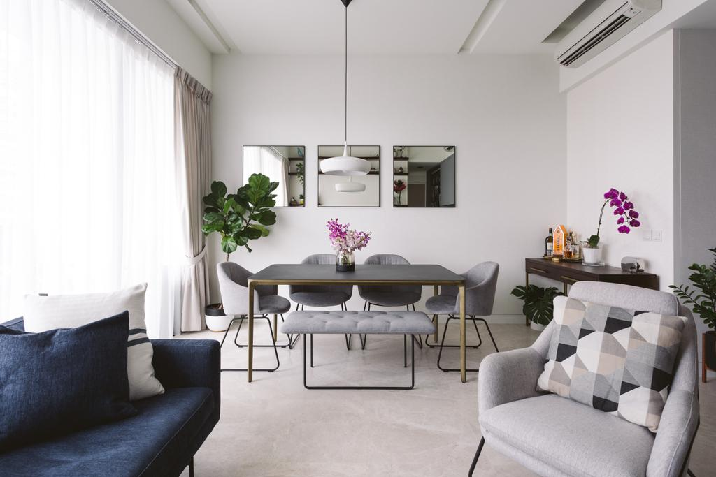 Contemporary, Condo, Dining Room, Highline Residences, Interior Designer, Habit