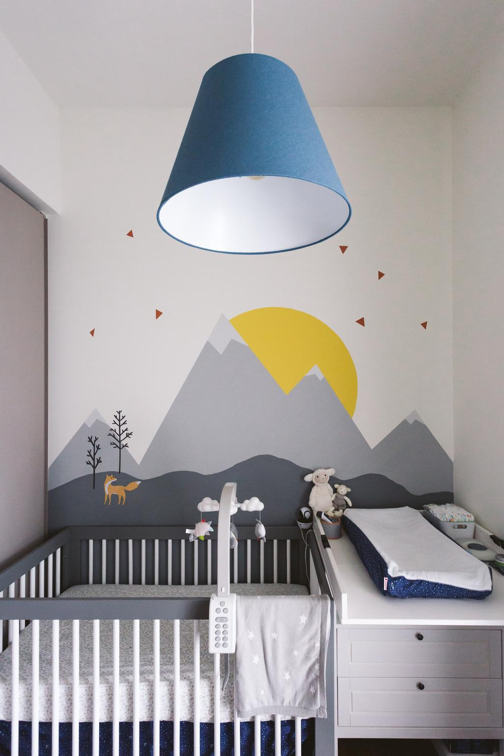 Contemporary, Condo, Highline Residences, Interior Designer, Habit