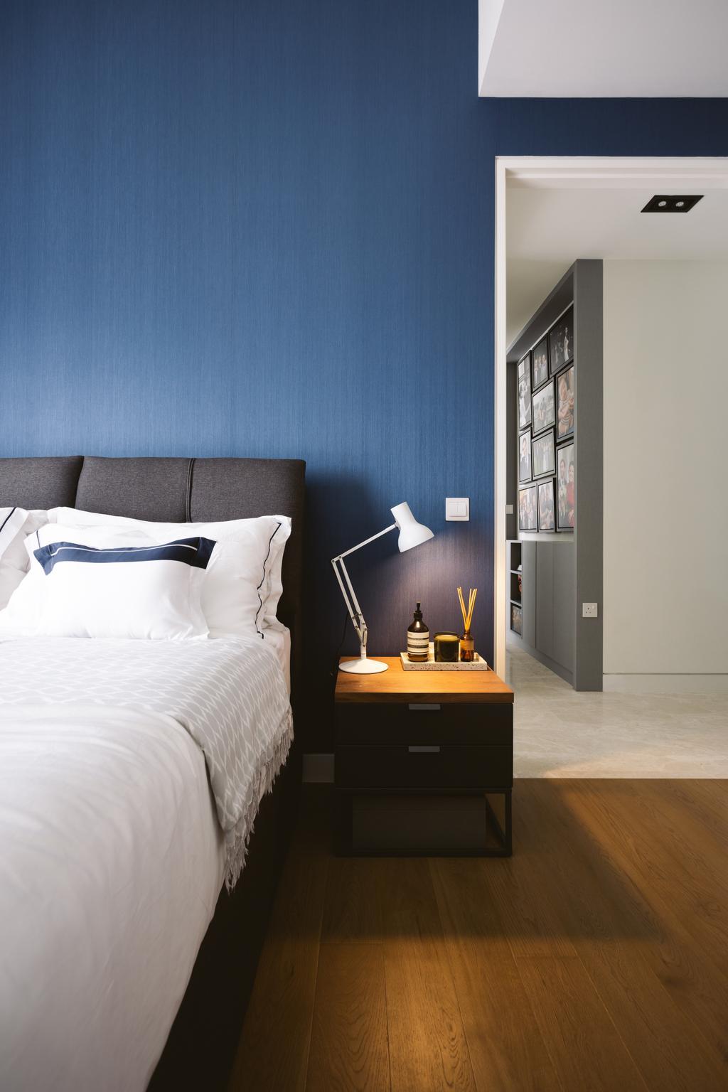Contemporary, Condo, Bedroom, Highline Residences, Interior Designer, Habit
