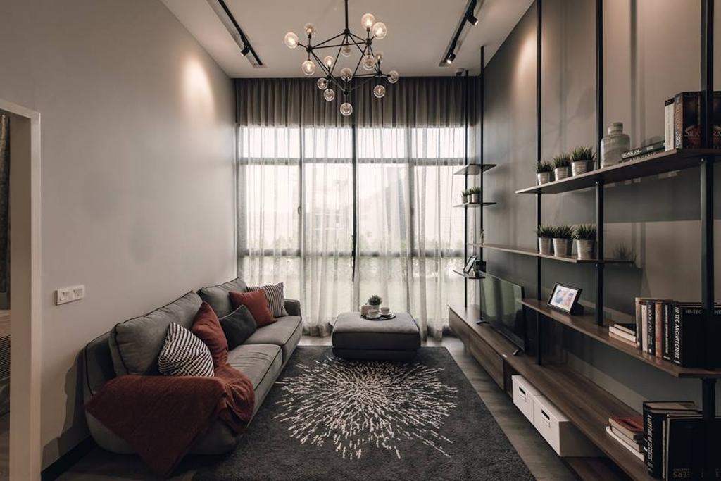 Modern, Condo, Kitchen, Antara Residence, Putrajaya, Interior Designer, EDI: Essential Design Integrated, Contemporary