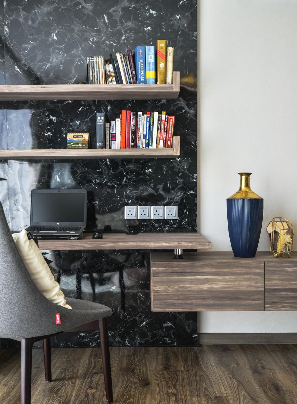 Modern, Landed, Zarra, Bandar Puteri Puchong, Interior Designer, Klaasmen Sdn. Bhd., Contemporary