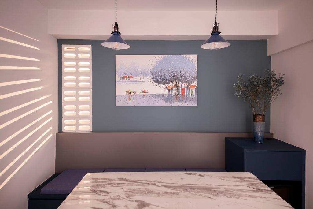 Contemporary, HDB, Dining Room, Mei Ling Street, Interior Designer, KDOT