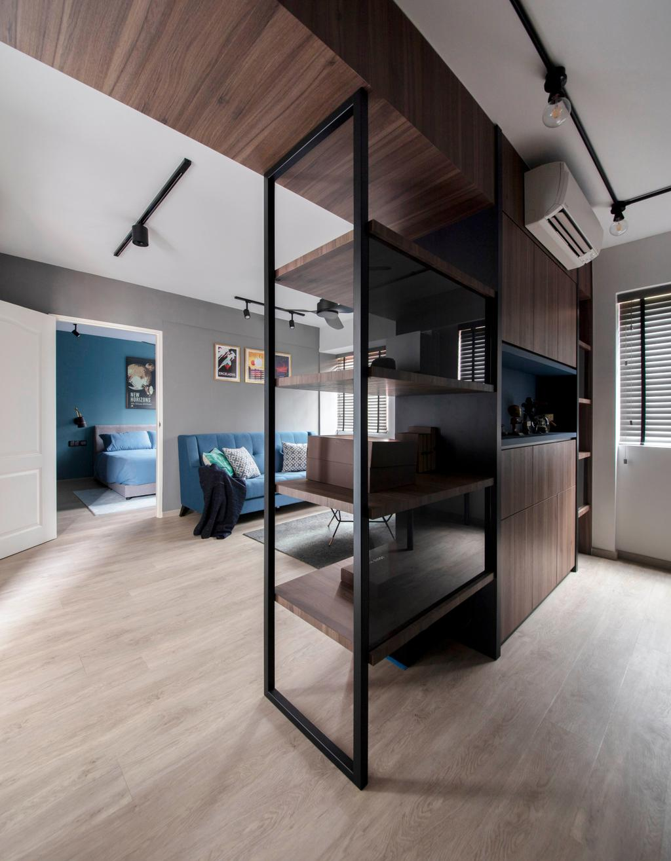 Contemporary, HDB, Mei Ling Street, Interior Designer, KDOT