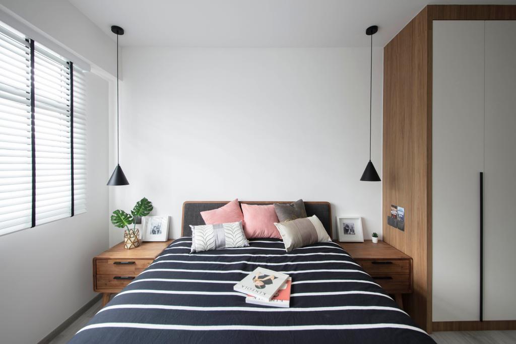 Contemporary, HDB, Bedroom, Sumang Lane, Interior Designer, KDOT