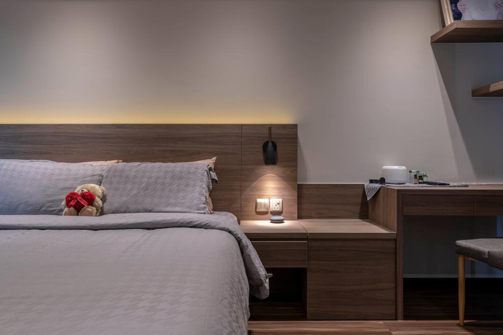 Contemporary, HDB, Bedroom, Sumang Lane, Interior Designer, Fifth Avenue Interior