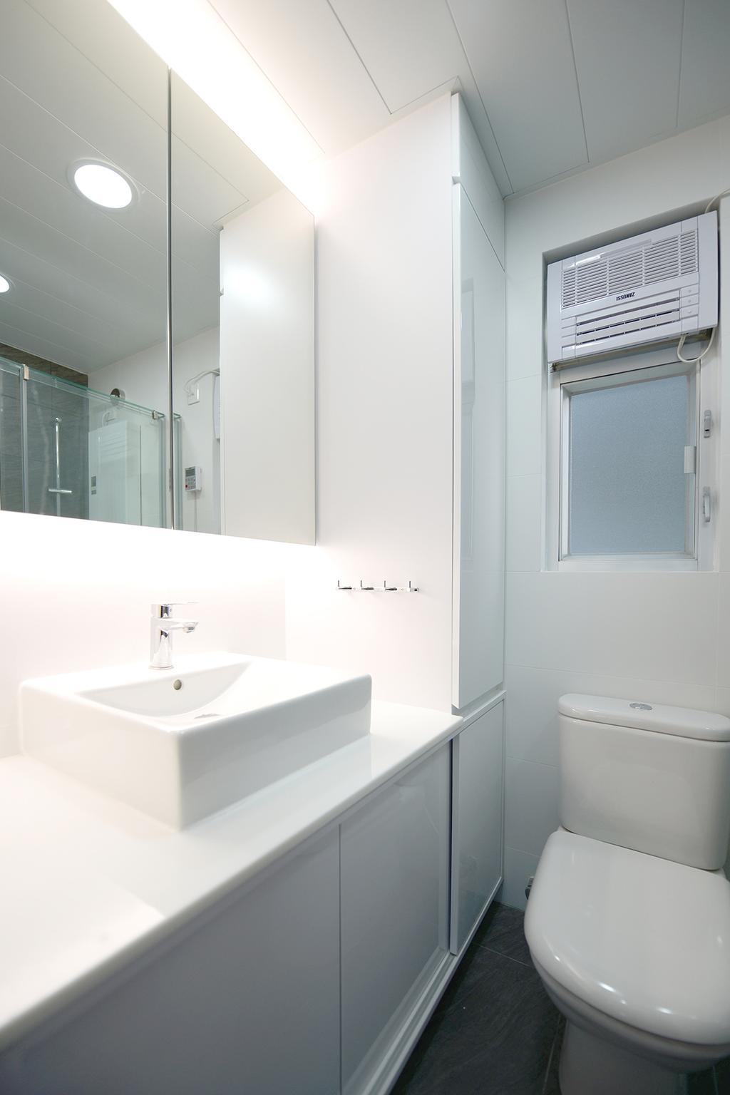私家樓, 浴室, 新都城, 室內設計師, 爾雋設計