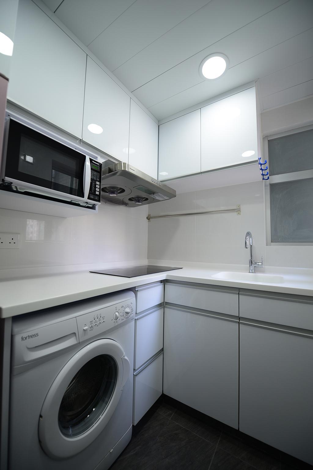 私家樓, 廚房, 新都城, 室內設計師, 爾雋設計