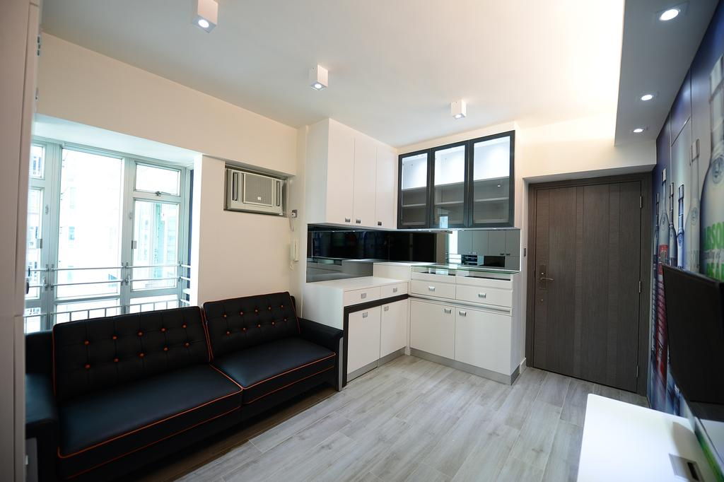 私家樓, 客廳, 新都城, 室內設計師, 爾雋設計