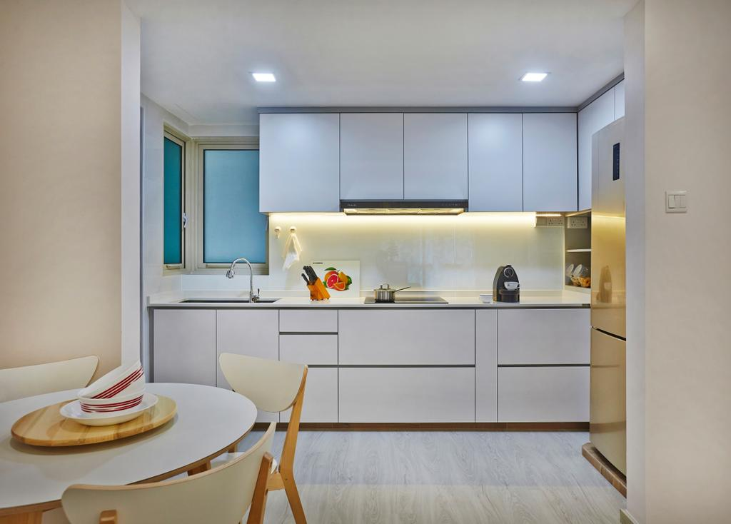 Modern, Condo, Kitchen, The Gardens at Bishan, Interior Designer, DS 2000 Interior & Design