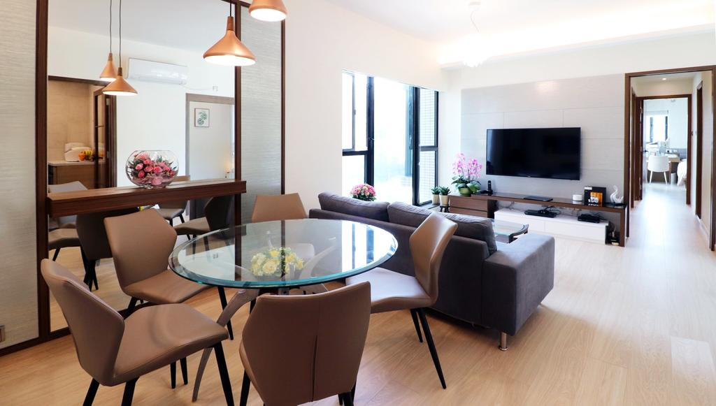 私家樓, 飯廳, 帝堡城, 室內設計師, 爾雋設計