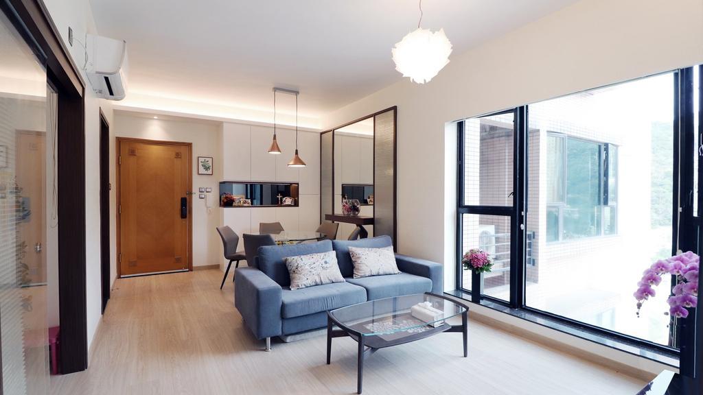 私家樓, 客廳, 帝堡城, 室內設計師, 爾雋設計