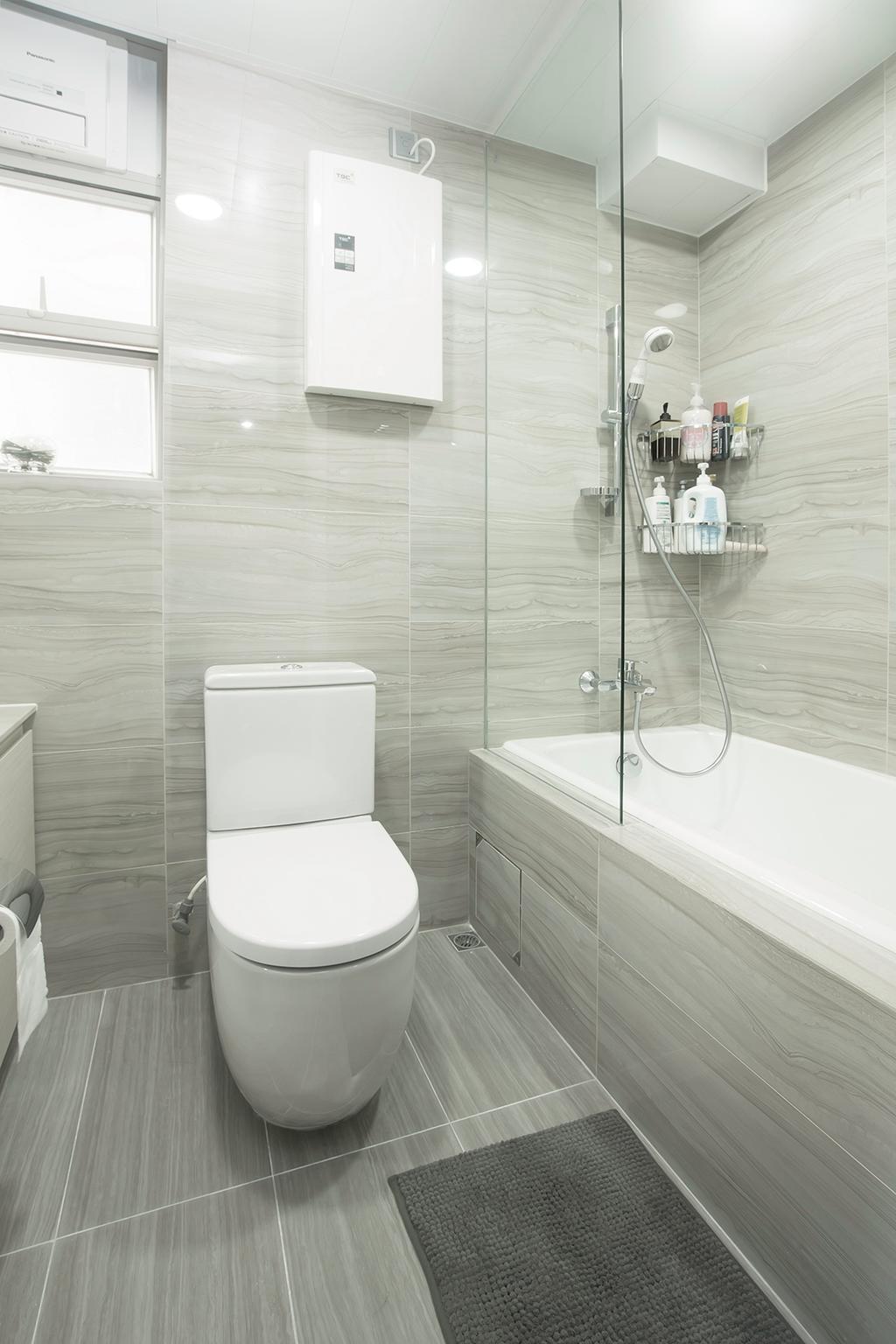 私家樓, 浴室, 港運城, 室內設計師, 爾雋設計