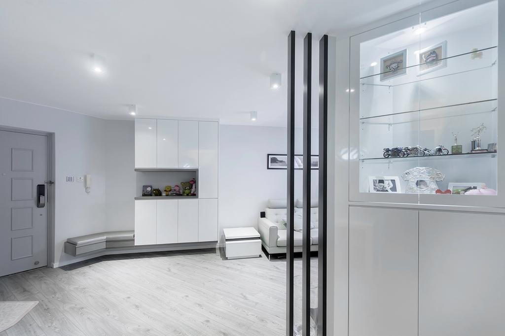 私家樓, 客廳, 港運城, 室內設計師, 爾雋設計