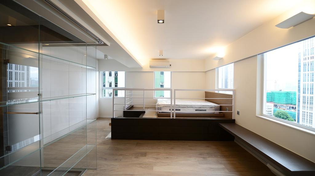私家樓, 睡房, 健威花園, 室內設計師, 爾雋設計