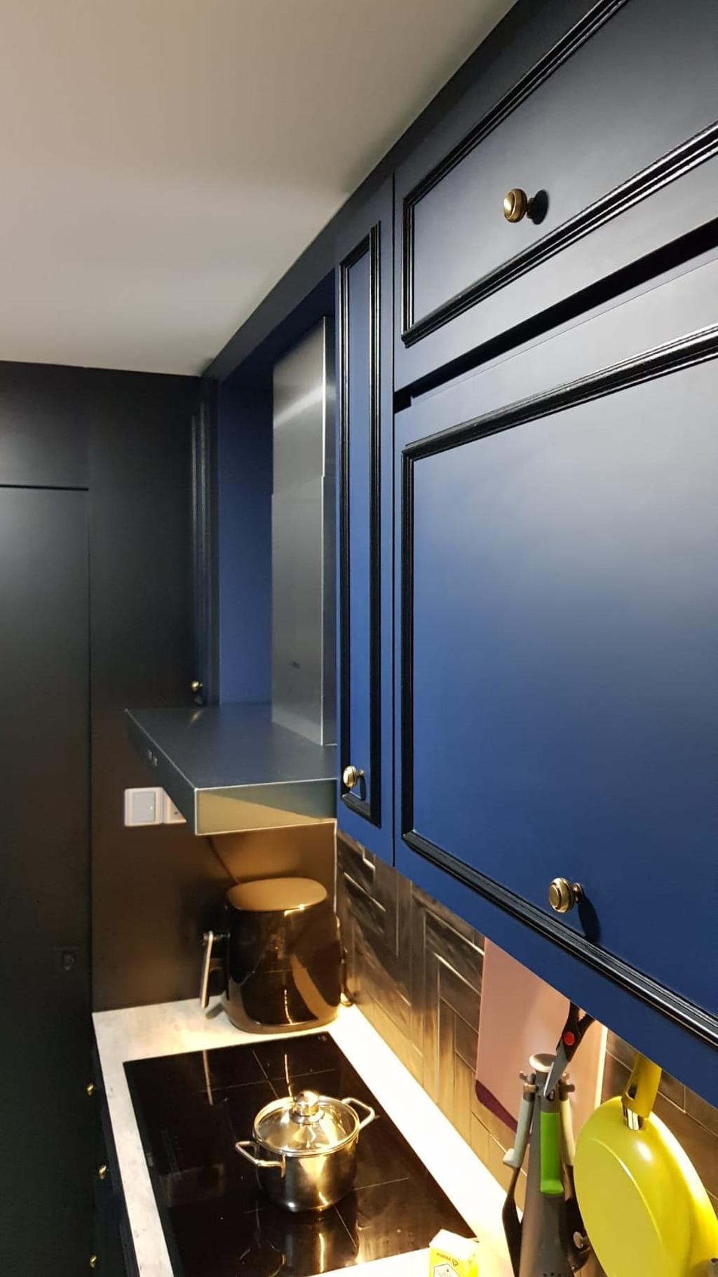 Contemporary, HDB, Kitchen, Punggol Waterway Terraces, Interior Designer, Inizio Atelier