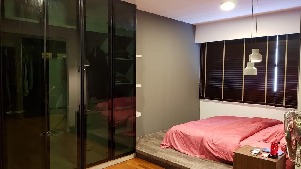 Contemporary, HDB, Bedroom, Punggol Waterway Terraces, Interior Designer, Inizio Atelier