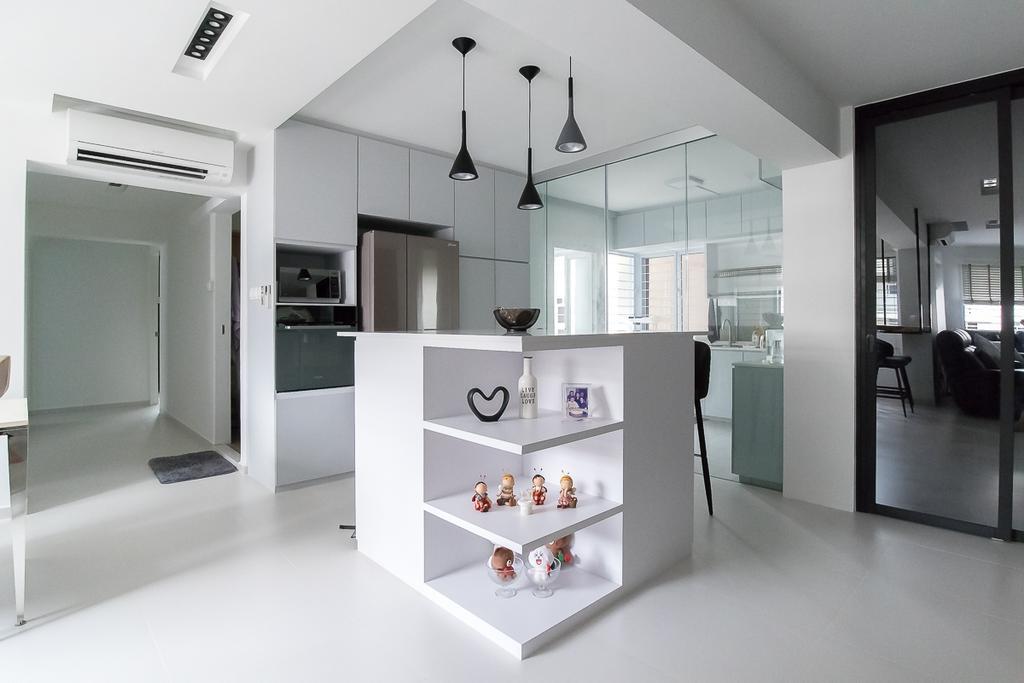 Contemporary, HDB, Woodlands Avenue 5, Interior Designer, Style Living Interior