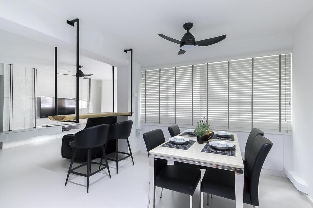 Contemporary, HDB, Dining Room, Woodlands Avenue 5, Interior Designer, Style Living Interior