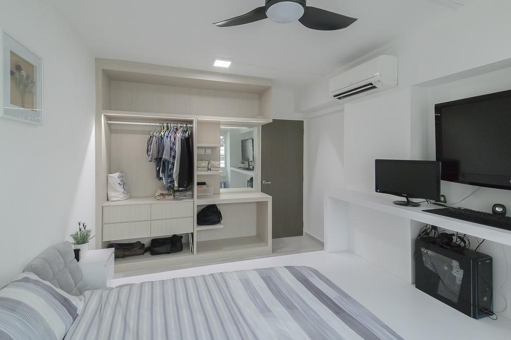 Contemporary, HDB, Bedroom, Woodlands Avenue 5, Interior Designer, Style Living Interior
