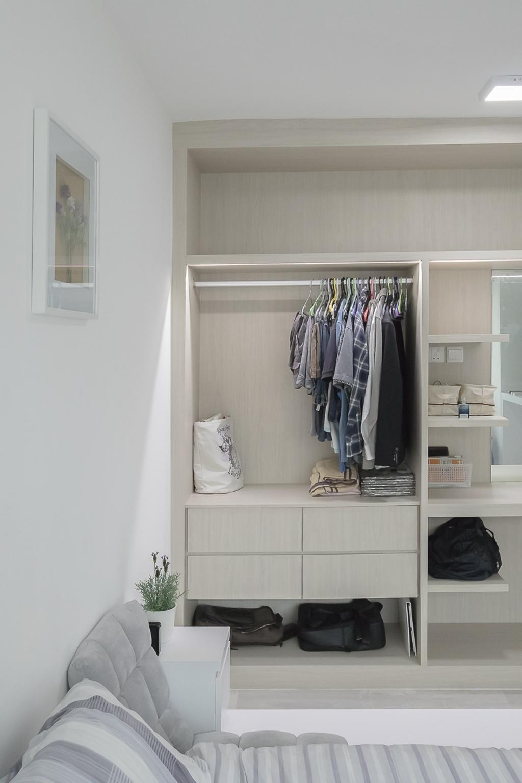 Contemporary, HDB, Bedroom, Woodlands Avenue 5, Interior Designer, Style Living Interior
