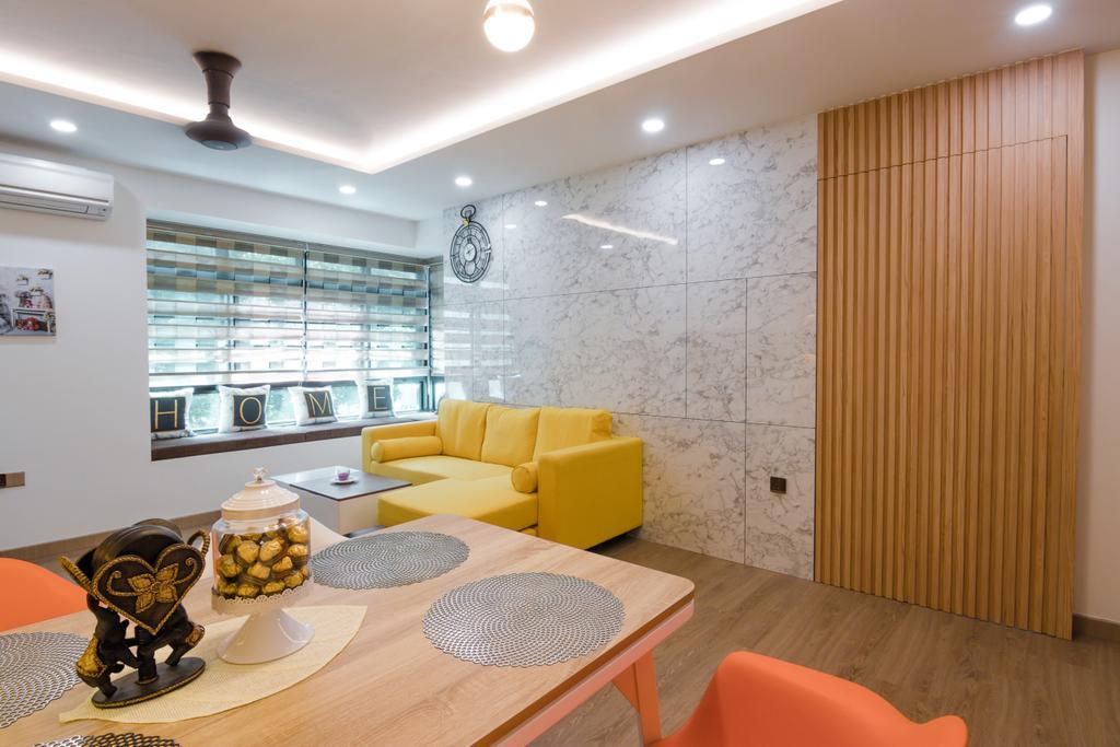 Contemporary, HDB, Living Room, Admiralty Link, Interior Designer, 9 Creation