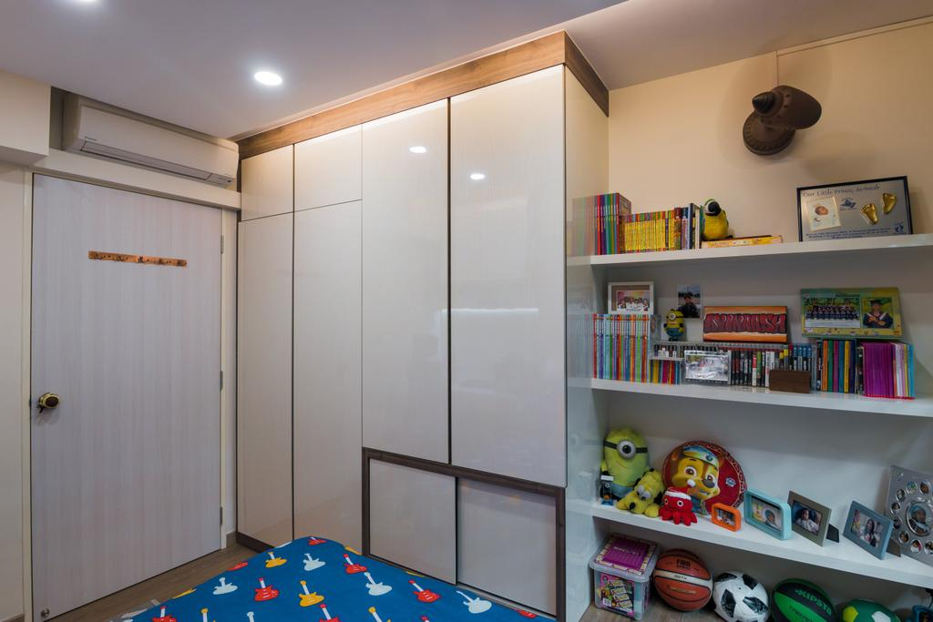 Contemporary, HDB, Bedroom, Admiralty Link, Interior Designer, 9 Creation