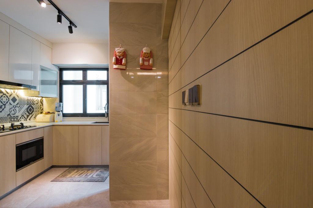 Contemporary, HDB, Kitchen, Admiralty Link, Interior Designer, 9 Creation