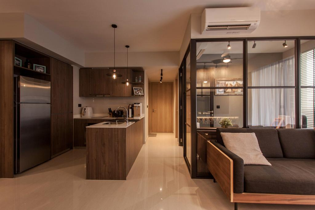 Contemporary, Condo, Kitchen, Sol Acres, Interior Designer, Space Atelier