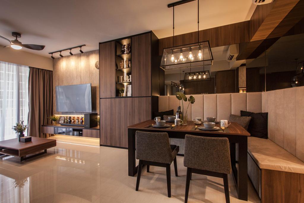 Contemporary, Condo, Dining Room, Sol Acres, Interior Designer, Space Atelier