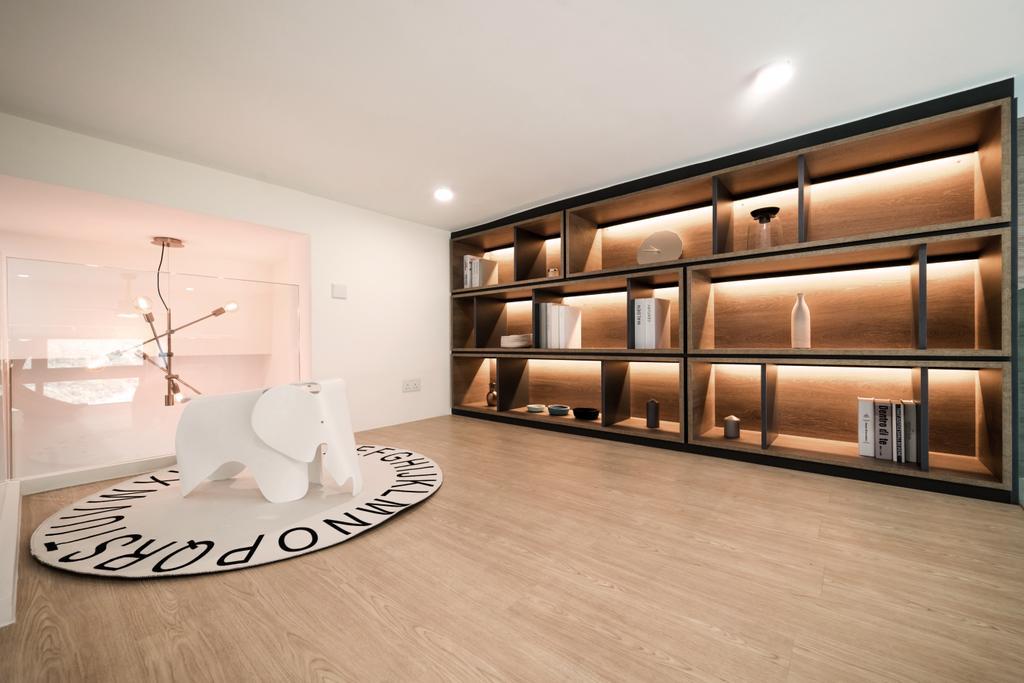 私家樓, 客廳, 峻弦, 室內設計師, monoo interior Limited
