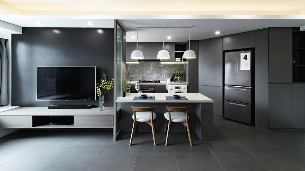 私家樓, 飯廳, 碧堤半島, 室內設計師, monoo interior Limited
