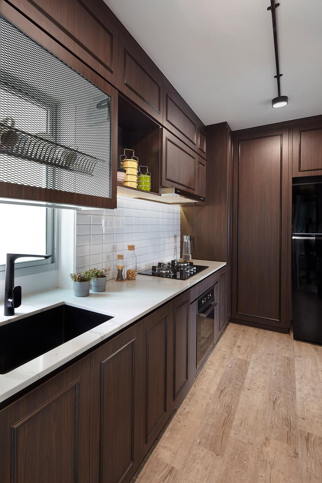 HDB, Kitchen, Bukit Batok (Block 293B), Interior Designer, Notion of W